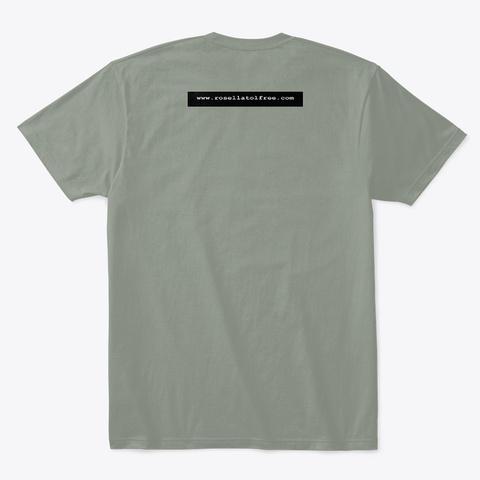 Gudo Muurling Shirt Grey T-Shirt Back