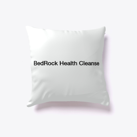 Bed Rock Health Cleanse | Bed Rock Health Standard T-Shirt Back