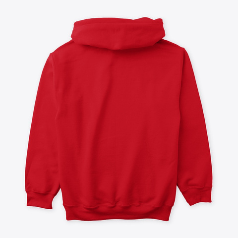 Man Of Considerable Talents Red Sweatshirt Back