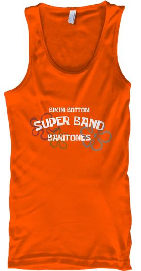 Bikini Bottom Baritones Orange T-Shirt Front