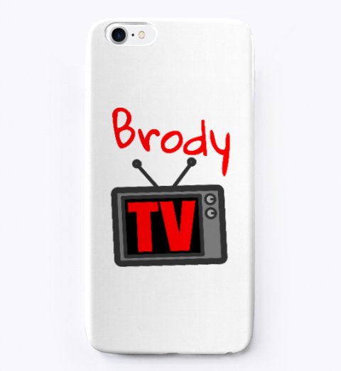 Brody Tv Logo Design   Phone Case Standard T-Shirt Front