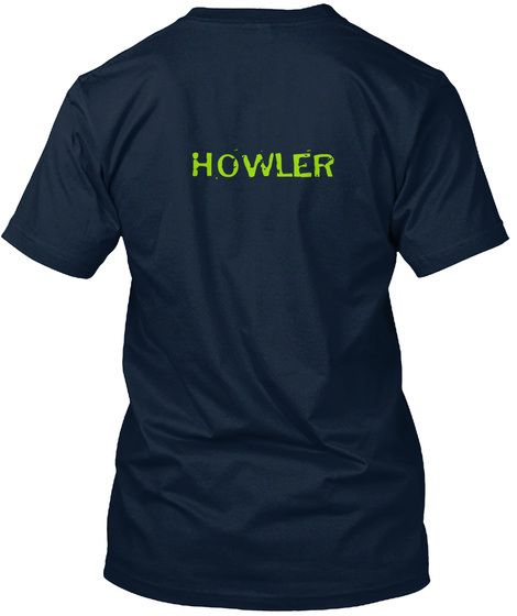 Howler New Navy T-Shirt Back