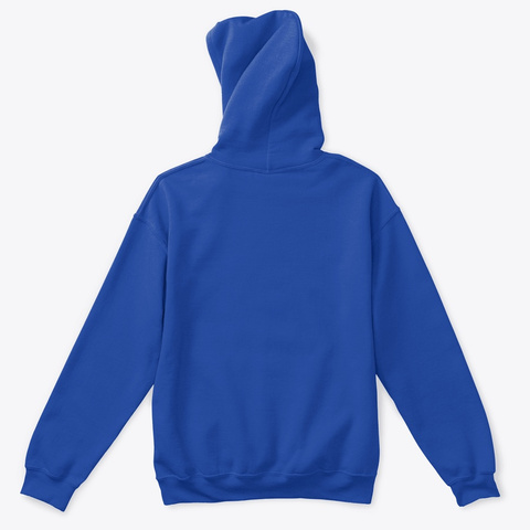 Kids With Drones Hoodie Royal T-Shirt Back