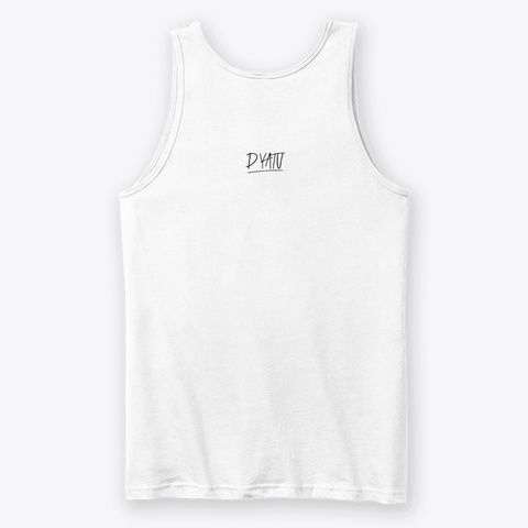 Yoga And Café Collection White T-Shirt Back