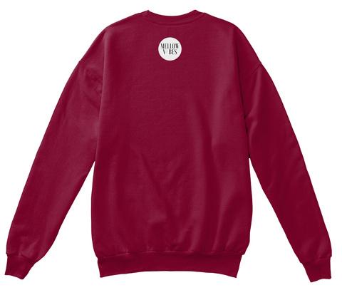 Just Breathe Cardinal  T-Shirt Back