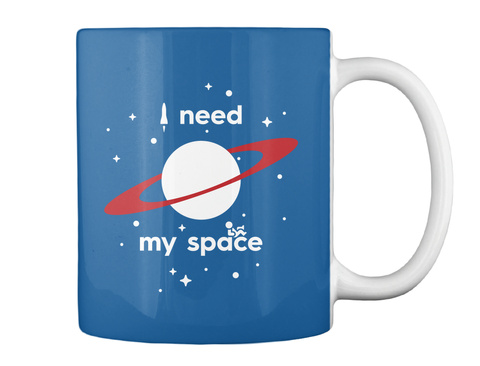 My Space Planet Mug [Usa] #Sfsf Dk Royal Mug Back
