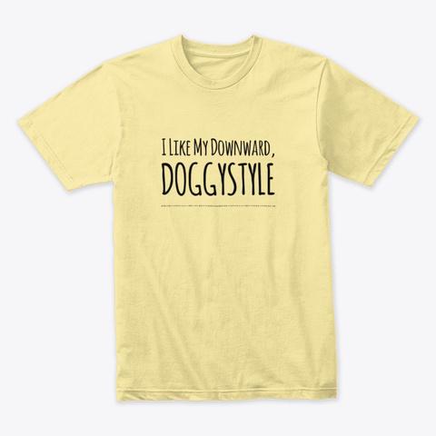 Doggystle Banana Cream T-Shirt Front