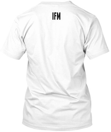 Ifm White T-Shirt Back