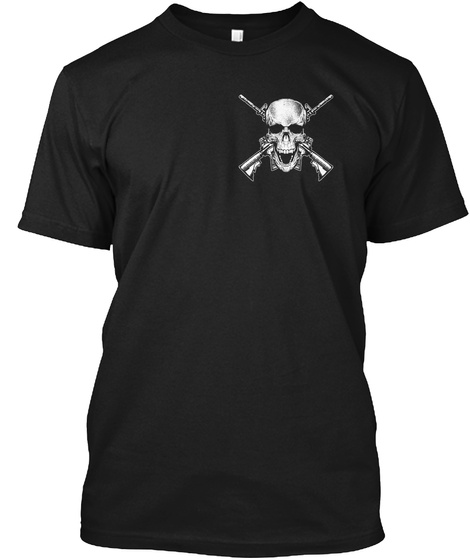 Gun Rights  The Right To Exist (Mp) Black T-Shirt Front