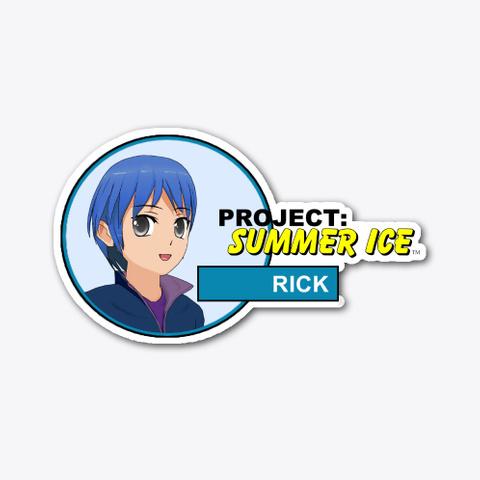 Project: Summer Ice Rick Sticker (A) Standard T-Shirt Front