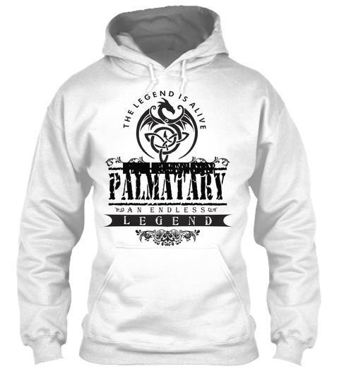 Palkowski  Palkovich  Palestino  Palestina  Palestini  Palenchar  Palmatary  White T-Shirt Front