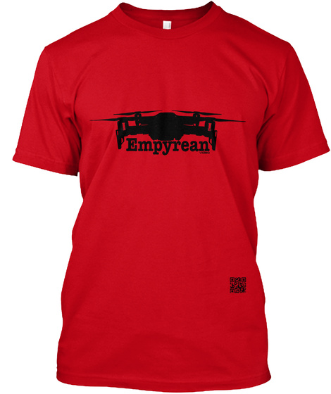 Empyrean Red T-Shirt Front