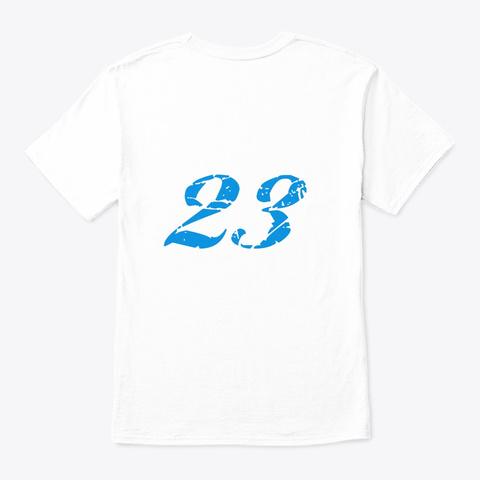 Auldi White T-Shirt Back