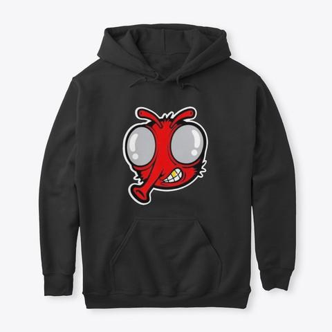 Stupid Fly Merch T Shirt Hoodie Uk Black T-Shirt Front