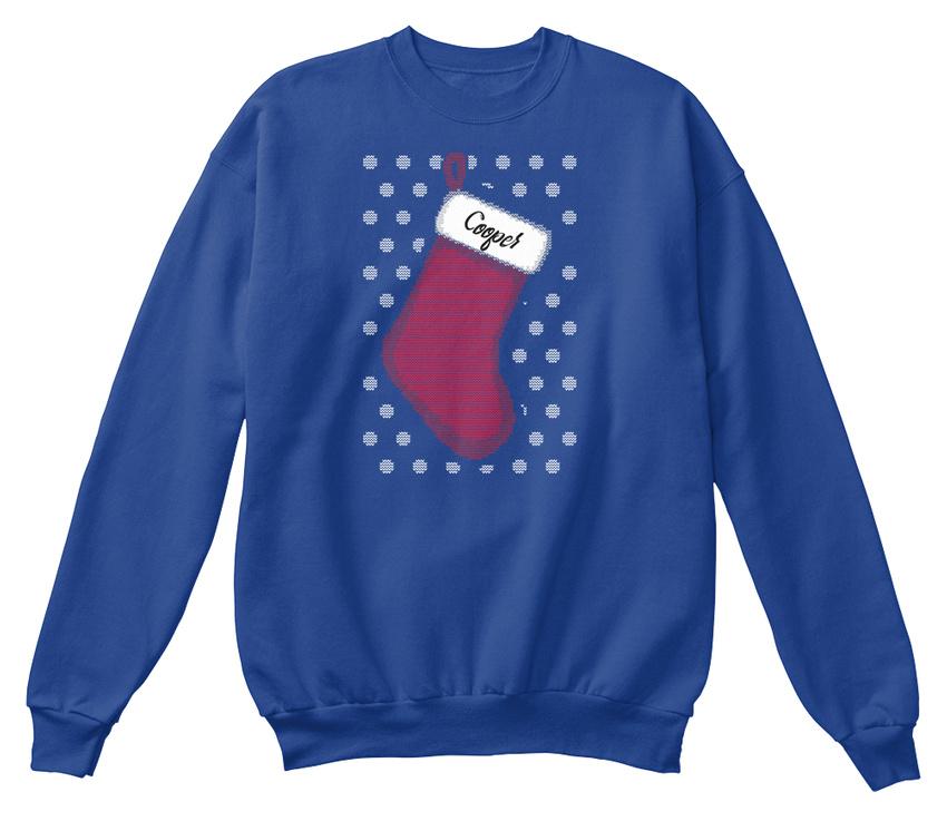 de Cooper Sweat shirt bas Noël avec unisexe wIIWfqRO7
