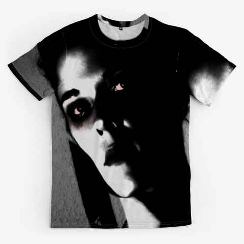 Sexy Girl With A Knife | Murder Black T-Shirt Front