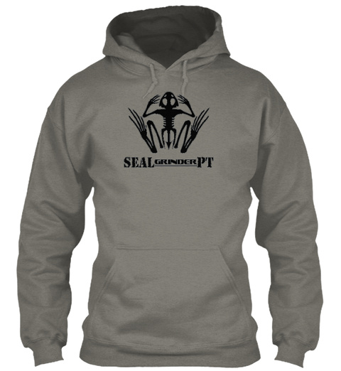 Sealgrinderpt Strong People Are Harder To Kill And Generally More Useful Charcoal Sweatshirt Front