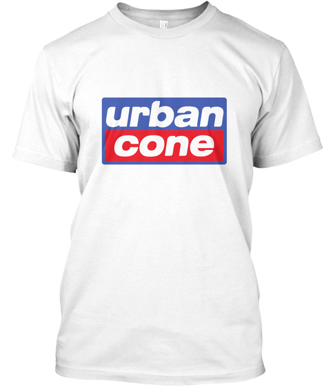 Urban Cone White T-Shirt Front