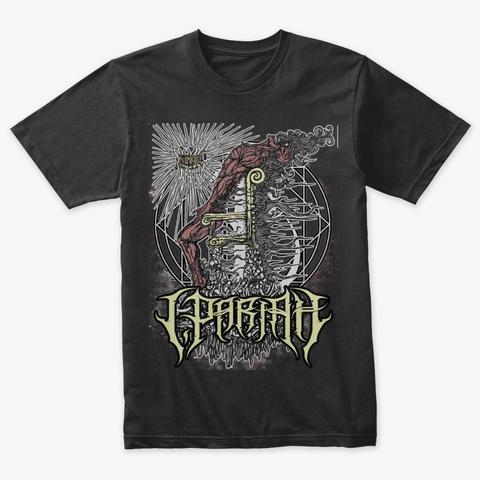 Dethroned Tee Vintage Black T-Shirt Front