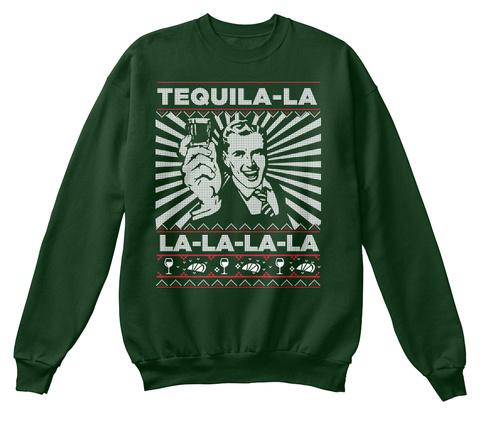Tequila La La La La La Deep Forest  T-Shirt Front