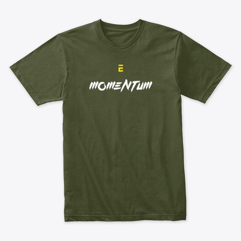 Momentum Collection Military Green Maglietta Front