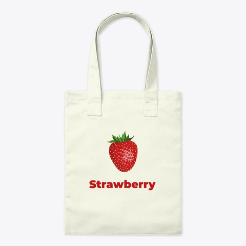 Strawberry Fruit Natural T-Shirt Front