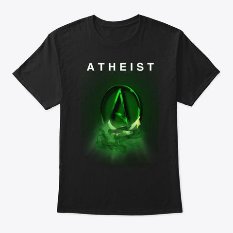 Atheist Black T-Shirt Front