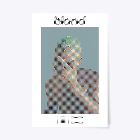 Blond: Dotted Poster Standard áo T-Shirt Front