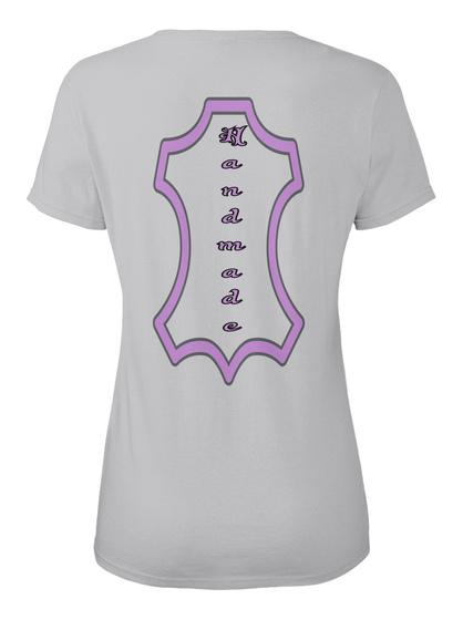 H A N D M A D E Sport Grey T-Shirt Back