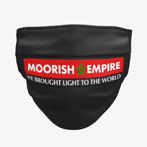 Moorish Empire Black T-Shirt Front