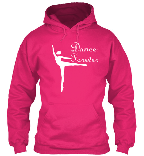 Dance Forever Heliconia T-Shirt Front