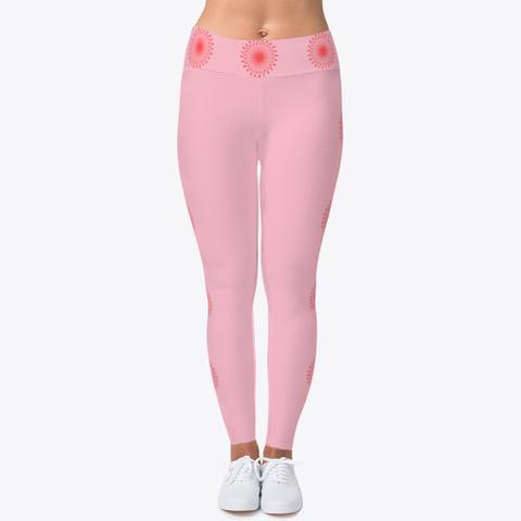 Start Within Leggings Pink T-Shirt Front