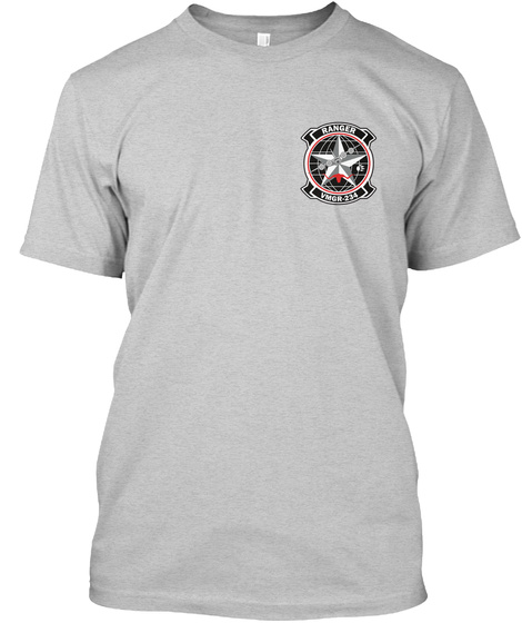 Vmgr 234 Squadron Patch Light Steel T-Shirt Front