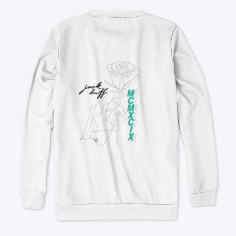 Jack Duff Rose Contour Standard T-Shirt Back