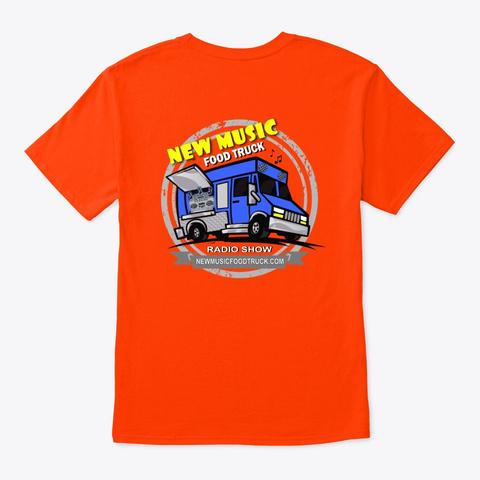 Official Nmft Tshirts Orange T-Shirt Back