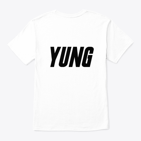 Yung Art Vol. 2 White T-Shirt Back