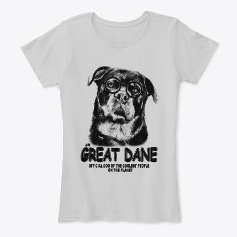 Bunt 01 Light Heather Grey T-Shirt Front