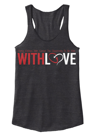 Giving Children With Cancer The Opportunity To Be Kids Withlove Eco Black Kaos Front