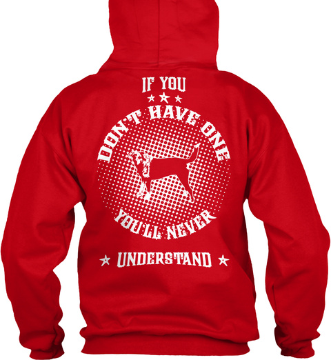 Don't Have One   Catahoula Leopard Red T-Shirt Back