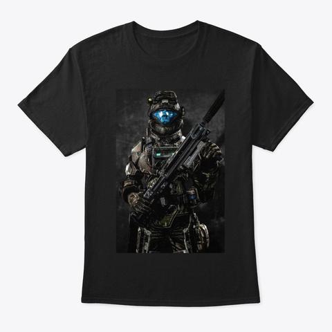 Hl T81 Black T-Shirt Front