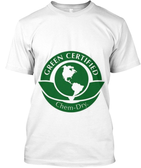 Carpet Cleaning Glendale Az White T-Shirt Front