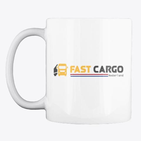 Fast Cargo Nld   Mug [White] White T-Shirt Front