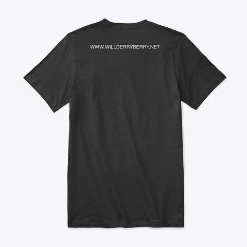 I Play Metal / Resonator Guitar Black T-Shirt Back