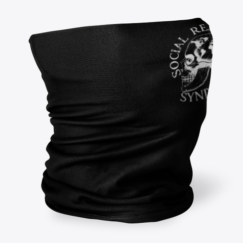 Social Rejects Syndicate Merch Black T-Shirt Side