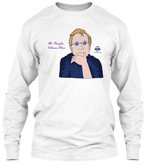 The Douglas Coleman Show Djc Productions White T-Shirt Front