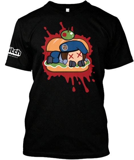 A Jill Sandwich (Carcinogen Sda) Black T-Shirt Front