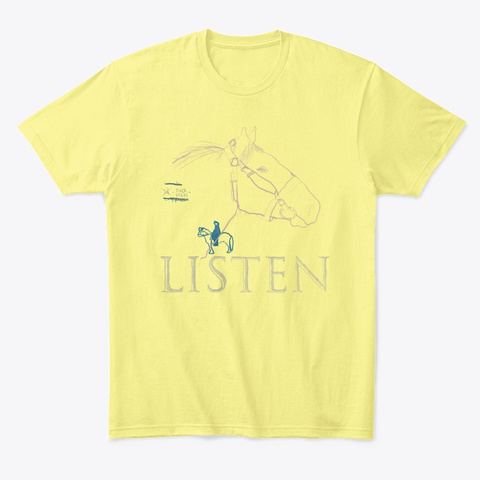 Fixd Stars Lemon Yellow  T-Shirt Front