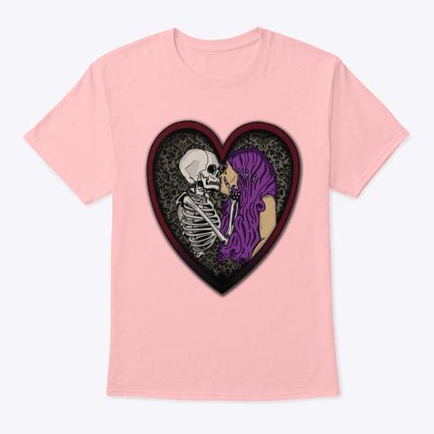 'til Death Do Us Part Pale Pink T-Shirt Front