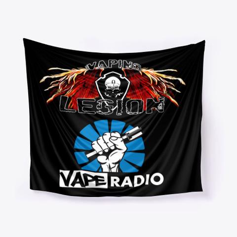 The Vaping Legion Shop Black T-Shirt Front