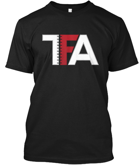 Tfa Black T-Shirt Front